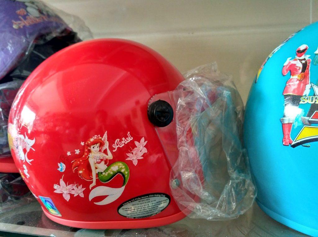 Mũ bảo hiểm trẻ em hãng Amoro