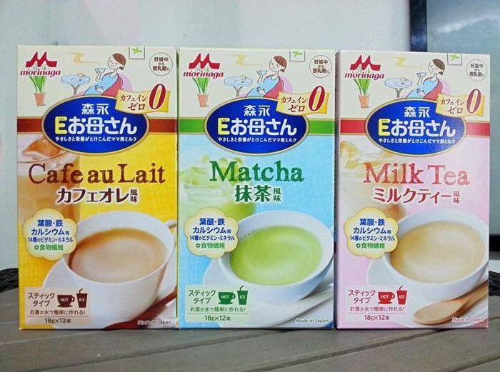 Sữa cho mẹ mang thai Morinaga