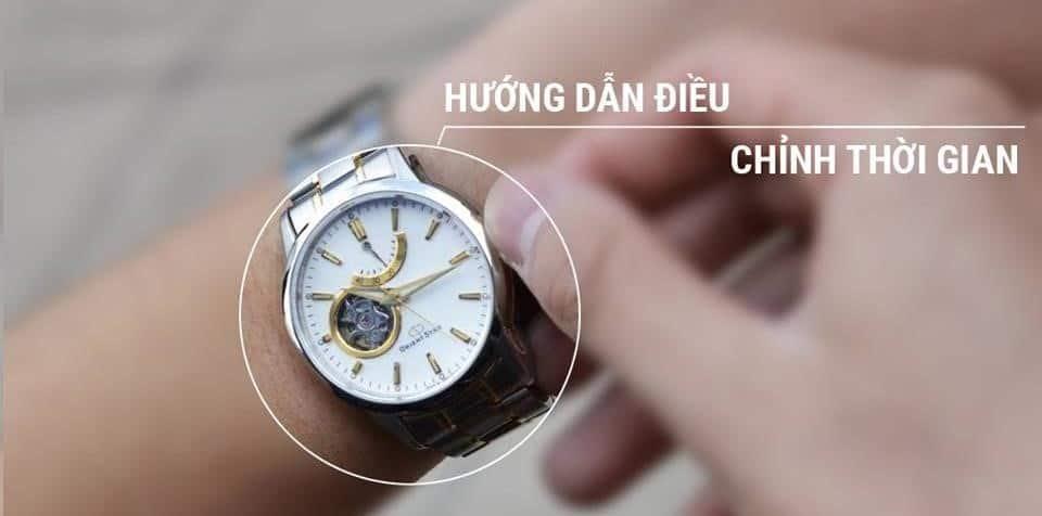 Cách chỉnh đồng hồ kim