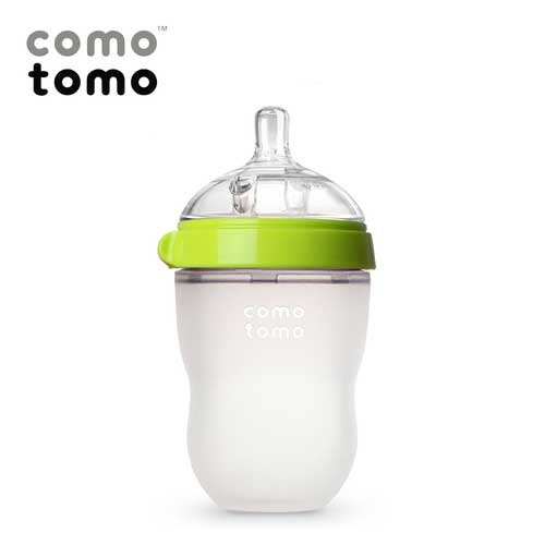 Bình-sữa-Comotomo-250ml-màu-xanh